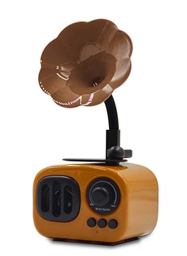Platoon PL-4186 Bluetooth Speaker Fm/Sd/Usb Sarı